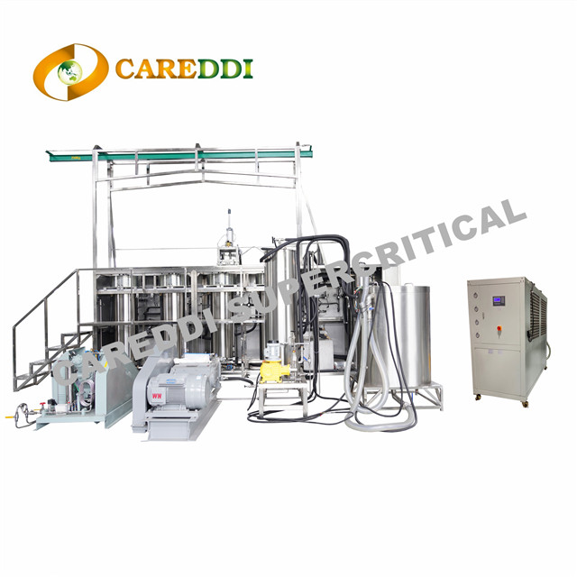 200L(50Lx4) Industrial Scale Supercritical Co2 Extraction Machine